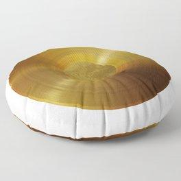 Voyager Golden Record - B-Side White Floor Pillow