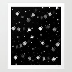 Starry Stars II Art Print
