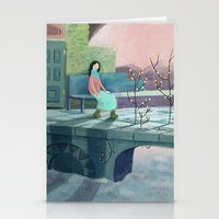 poem Stationery Cards featuring December Poem by Ofelia Yang