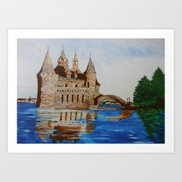 Boldt Castle Power House Art Print