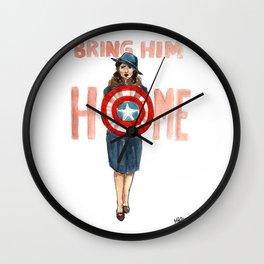 Bring Him Home Wall Clock