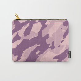 Colorful Marble Modern Light Rose Color Carry-All Pouch
