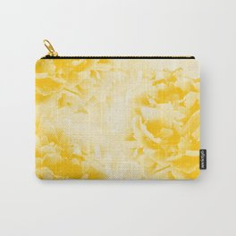 Yellow Peonies Dream #1 #floral #decor #art #society6 Carry-All Pouch