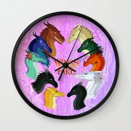 Wings Of Fire Wall Clock