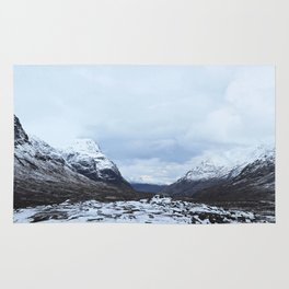 World turns. Scottish Highlands Rug