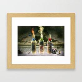 Three Flavors of Fate Framed Art Print