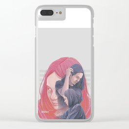 Hello Goodbye Clear iPhone Case