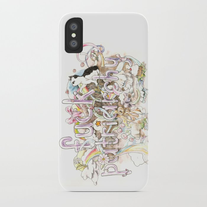 Fuck Patriarchy iPhone Case