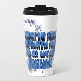 Gemina Quote Vengeance Travel Mug