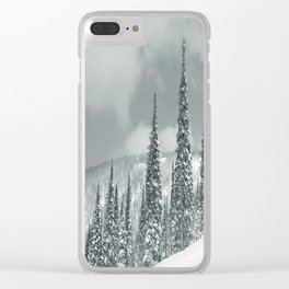 Winter 8 Clear iPhone Case