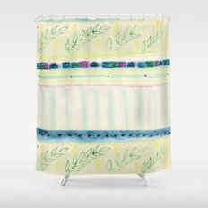 Inspired by spring Shower Curtain