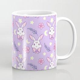 Sakura Bunny // Purple Coffee Mug