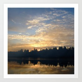 It's My Lake in a Box! Art Print