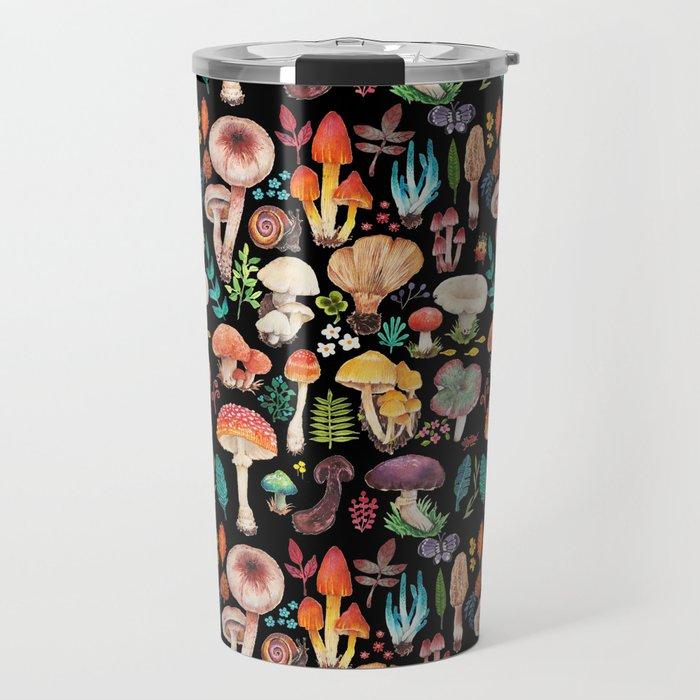 Mushroom heart Travel Mug