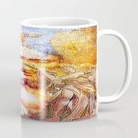 faith Mugs featuring Faith by Joe Ganech