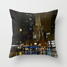 Nitelife - Chicago Throw Pillow