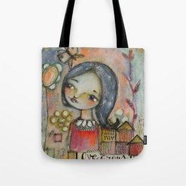 Love grows here Tote Bag