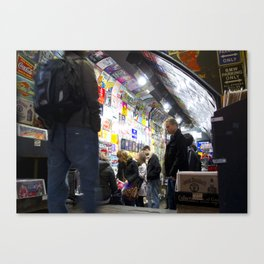 Camden Lock,London Canvas Print