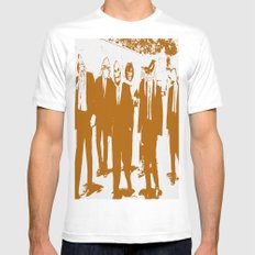 Reservoir Awesome White Mens Fitted Tee MEDIUM