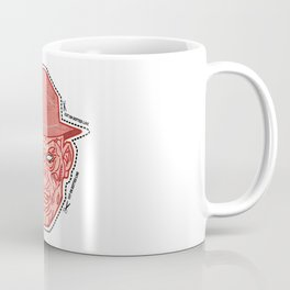 Cut Along Dotted Line Coffee Mug