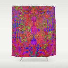 Birds of Expression Shower Curtain