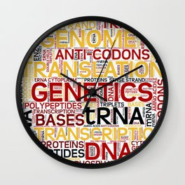 MOLECULAR BIOLOGY - Protein Synthesis Wall Clock