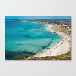 sea landscape Sardinia Canvas Print