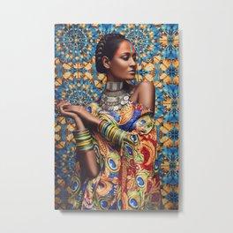 INDIAN BEAUTY #1 Metal Print