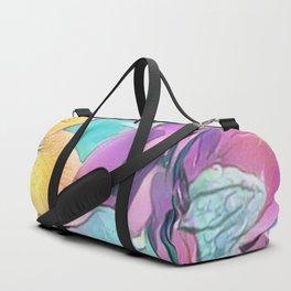 Flower Bouquet Pastel Duffle Bag