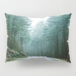 Forest Road Trip Pillow Sham
