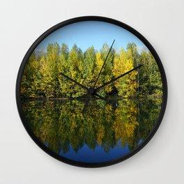 True Autumn Colours Wall Clock