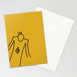 Evil scientist Stationery Cards