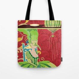 Portrait of Seraphin Tote Bag
