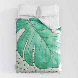 monstera monday Comforters