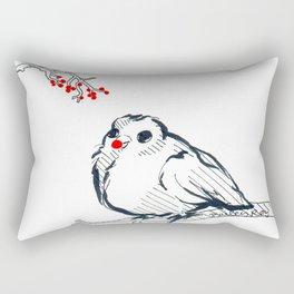 Rudolph The Red Nose Birdy Rectangular Pillow