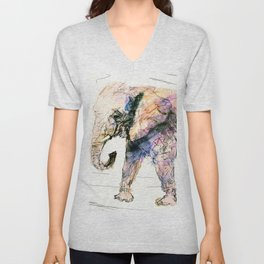elephant queen - the whole truth Unisex V-Neck