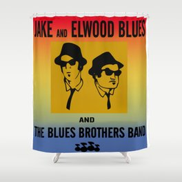 Mission From God Blues Brothers Shower Curtain