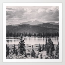 Echo Lake, Colorado Art Print