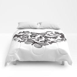 BUTTERFLY LOVE MONO Comforters