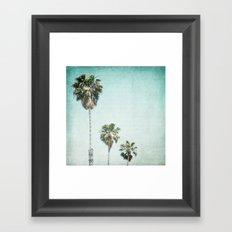 Letters From Those Sunny Days Framed Art Print