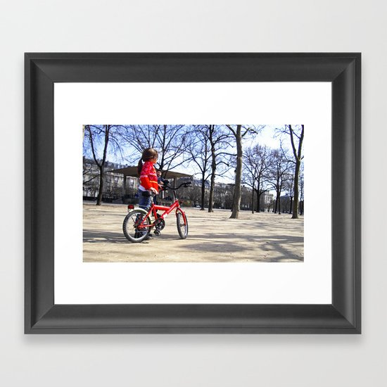 Where to Framed Art Print