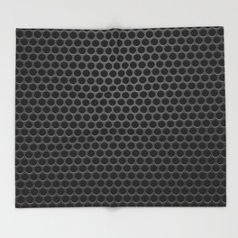 Perforated Pattern Throw Blanket