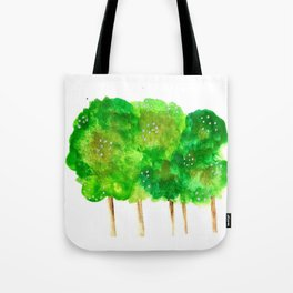 Treelines Tote Bag