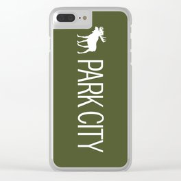 Utah: Park City Moose Clear iPhone Case
