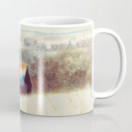 The Barn Over The Hill Coffee Mug