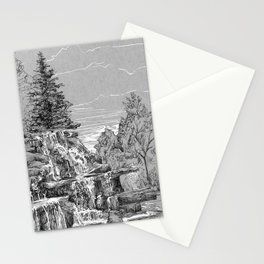 Ink on paper: Bay Beach Wildlife Sanctuary Stationery Cards