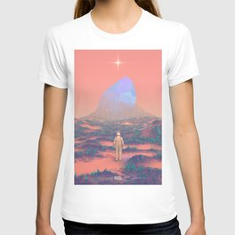 Lost Astronaut Series #02 - Giant Crystal T-shirt