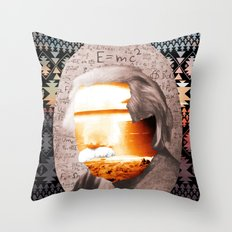 E=MC2 Throw Pillow