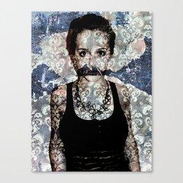 Don't Speak Canvas Print