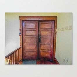 The Doors to the Sanctuary Canvas Print